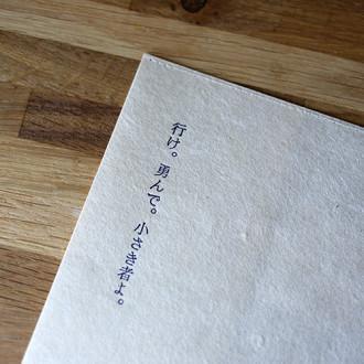 物語のあるブックジャケット『有島武郎』