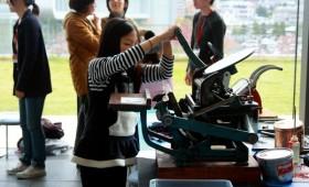 親子で活版印刷体験 parent and child's workshop