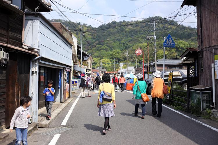 福岡を早い時間に出たので、まだ人はまばらでした。
