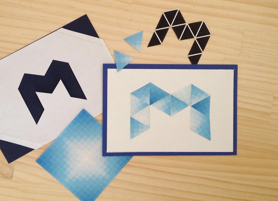 折り紙などで構成。